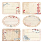 Prima - En Francais Collection - Journaling Notecards