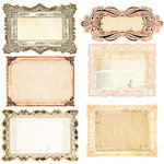 Prima - Almanac Collection - Journaling Notecards