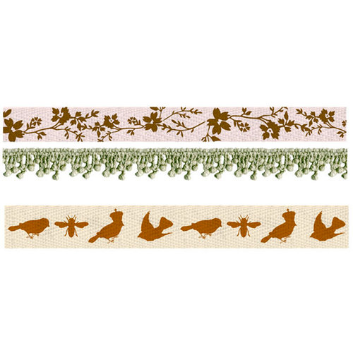 Prima - Songbird Collection - Trim - Ribbon and Lace
