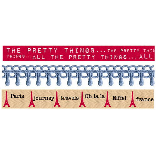 Prima - En Francais Collection - Trim - Ribbon and Lace