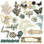 Prima - Nature Garden Collection - Chipboard Pieces