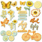 Prima - Sun Kiss Collection - Chipboard Pieces