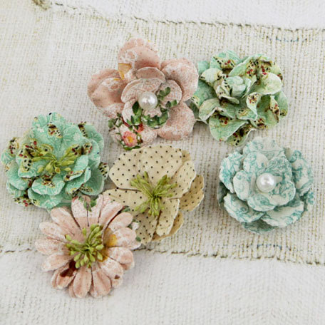 Prima - Vinetta Collection - Flower Embellishments - Fairy Belle