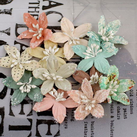 Prima - Lucerne Collection - Flower Embellishments - Fairy Belle