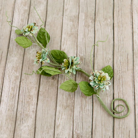 Prima - Button Vine Collection - Flower Embellishments - Fairy Belle