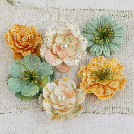 Prima - Vinetta Collection - Flower Embellishments - Songbird