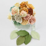 Prima - Charme Rose Collection - Flower Embellishments - Songbird