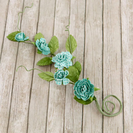 Prima - Pixie Vine Collection - Flower Embellishments - Sun Kiss