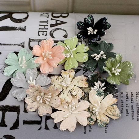 Prima - Lucerne Collection - Flower Embellishments - Nature Garden