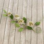 Prima - Button Vine Collection - Flower Embellishments - Nature Garden
