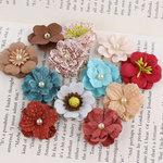Prima - Perle Bebe Collection - Flower Embellishments - En Francais
