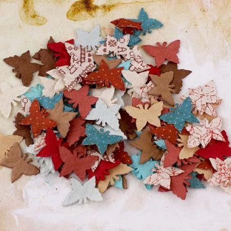 Prima - Flutter Bits Collection - Butterfly Embellishments - En Francais