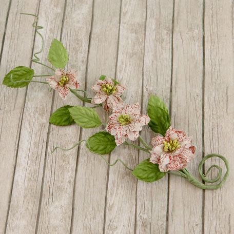 Prima - Button Vine Collection - Flower Embellishments - En Francais