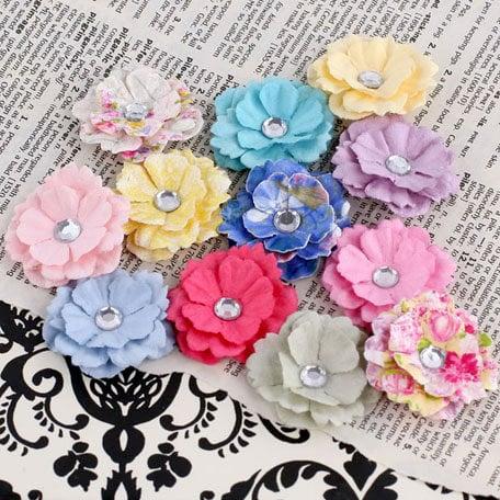 Prima - Melisse Collection - Flower Embellishments - Meadow Lark