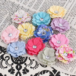 Prima - Melisse Collection - Flower Embellishments - Meadow Lark