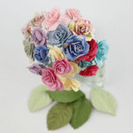 Prima - Charme Rose Collection - Flower Embellishments - Meadow Lark
