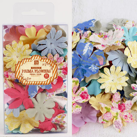 Prima - Essentials Petals Collection - Flower Embellishments - Meadow Lark