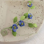 Prima - Millicent Collection - Vine Embellishments - Meadow Lark - Blue