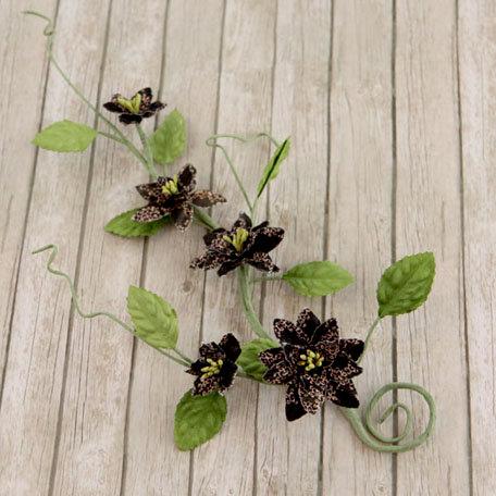 Prima - Gracie Vine Collection - Flower Embellishments - Almanac