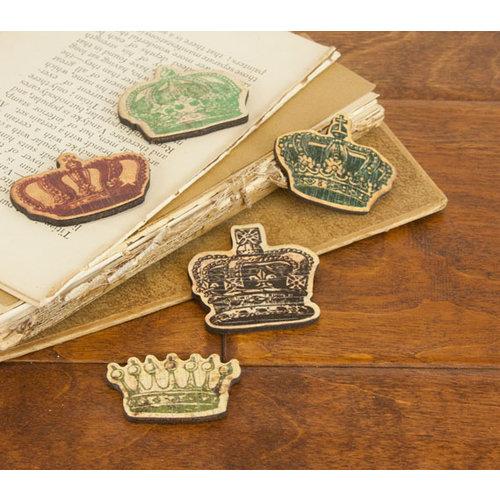 Prima - Wood Embellishments - Crown