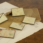 Prima - Wood Embellishments - Envelope