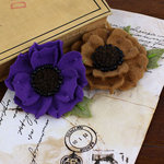 Prima - Encore Collection - Fabric Flower Embellishments - Merino