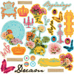 Prima - Zephyr Collection - Chipboard Pieces