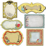 Prima - Welcome to Paris Collection - Journaling Notecards Set