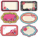 Prima - Rosarian Collection - Journaling Notecards Set
