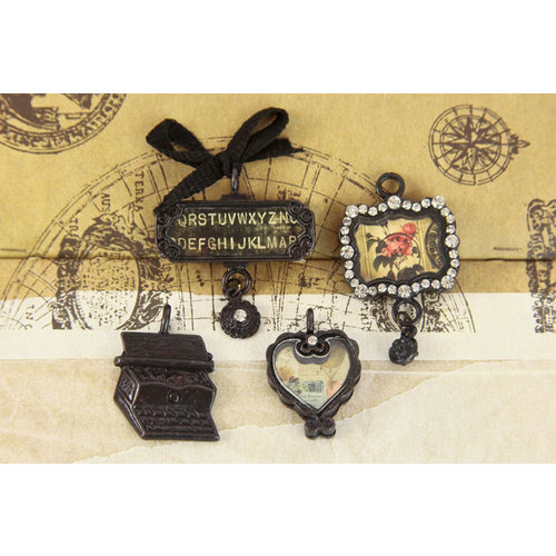 Prima - Romance Novel Collection - Trinkets - Metal Embellishments