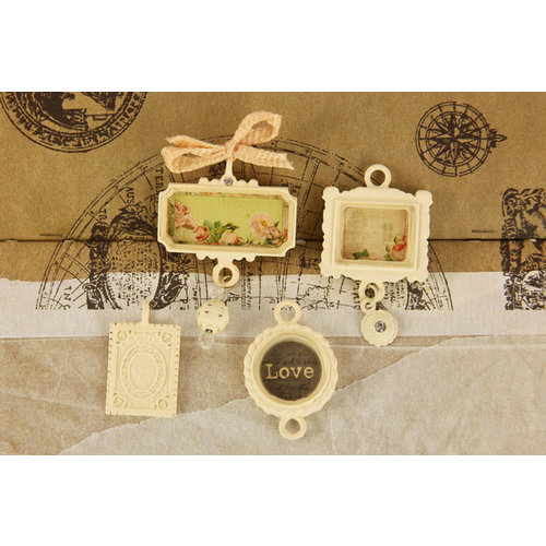 Prima - Tea-Thyme Collection - Trinkets - Metal Embellishments