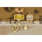 Prima - Zephyr Collection - Trinkets - Metal Embellishments