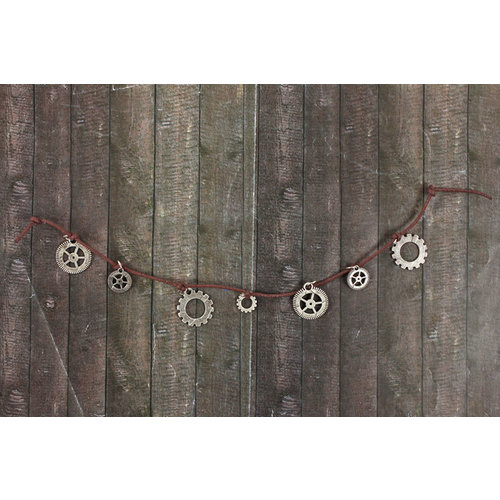 Prima - Be-Charmed Collection - String Embellishments - Metal Gears