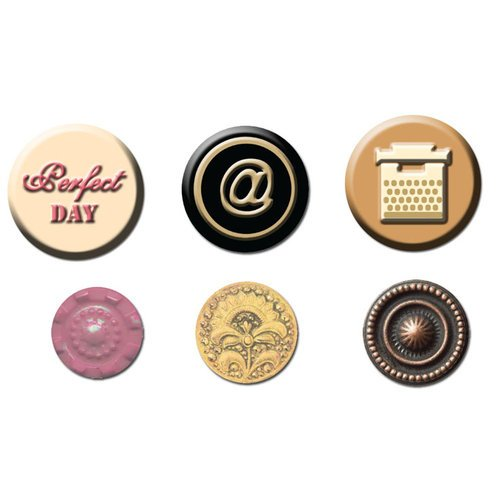 Prima - Romance Novel Collection - Cabochons and Buttons