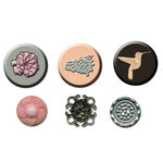 Prima - Rondelle Collection - Cabochons and Buttons