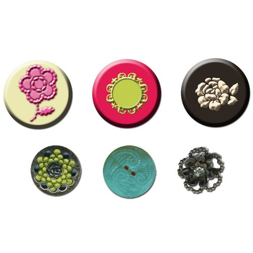 Prima - Rosarian Collection - Cabochons and Buttons