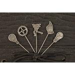 Prima - Craftsman Collection - Metal Embellishments - Pins