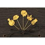 Prima - Tea-Thyme Collection - Metal Embellishments - Pins