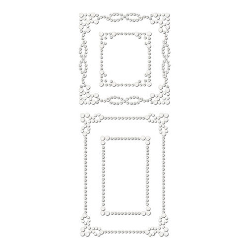 Prima - Say It In Crystals Collection - Self Adhesive Jewel Art - Bling - Frame 2