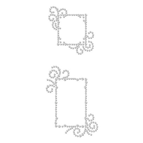 Prima - Say It In Crystals Collection - Self Adhesive Jewel Art - Bling - Frame 3