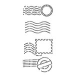 Prima - Say It In Crystals Collection - Self Adhesive Jewel Art - Bling - Postmark 2