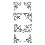 Prima - Say It In Crystals Collection - Self Adhesive Jewel Art - Bling - Corner 3