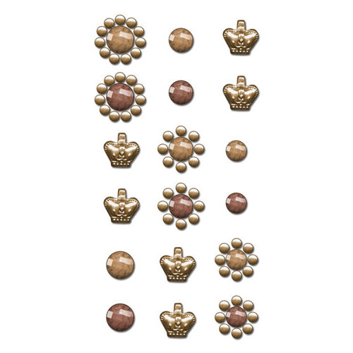 Prima - Say It In Crystals Collection - Self Adhesive Jewels - Bling - Assortment 6
