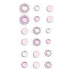 Prima - Say It In Crystals Collection - Self Adhesive Jewels - Bling - Assortment 9
