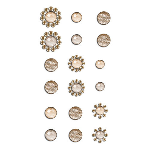 Prima - Say It In Crystals Collection - Self Adhesive Jewels - Bling - Assortment 11