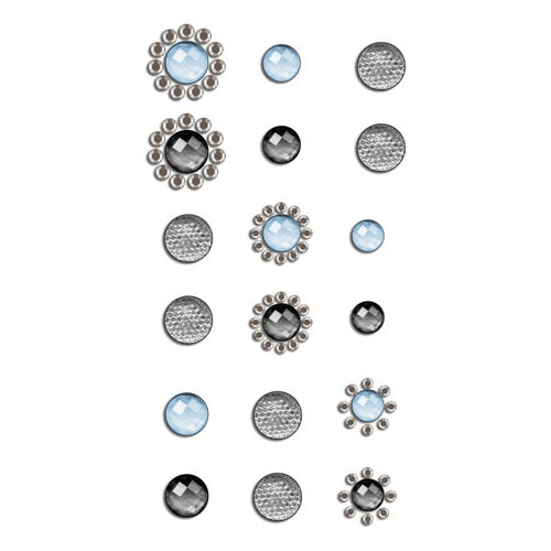 Prima - Say It In Crystals Collection - Self Adhesive Jewels - Bling - Assortment 12