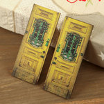 Prima - Wood Embellishments - Doors - Set 4