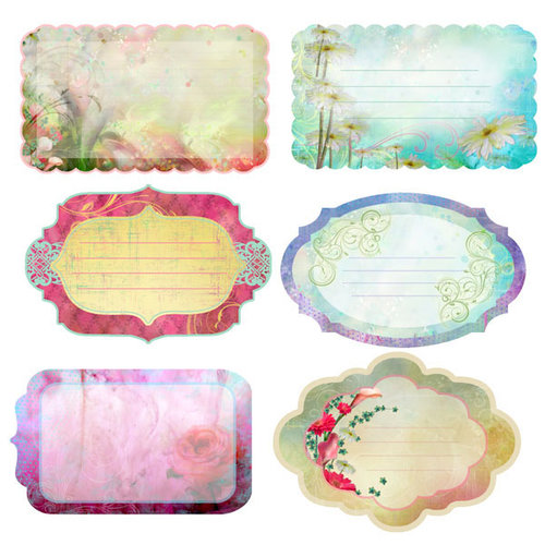Prima - Firefly Collection - Journaling Notecards Set