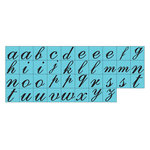 Prima - Prima Press - Rubber Mounted Stamps - Alphabet - Set 1