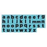 Prima - Prima Press - Rubber Mounted Stamps - Alphabet - Set 3